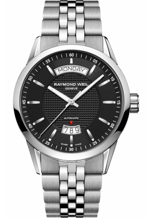 RAYMOND WEIL Freelancer Automatic Day Date Mens Watch 42mm