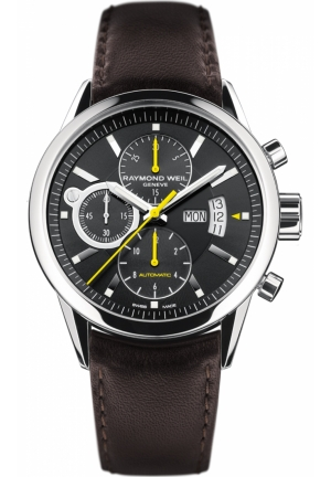 RAYMOND WEIL Freelancer Chronograph Mens Watch 42mm