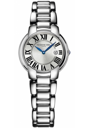 RAYMOND WEIL Jasmine Silver Dial Stainless Steel Ladies Watch 29mm