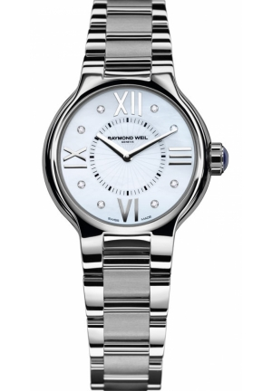 RAYMOND WEIL Noemia Mother of Pearl Diamond Dial Ladies Watch 32mm