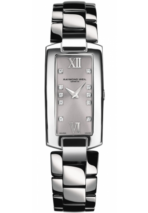 RAYMOND WEIL Shine 10-Diamond Ladies Watch 19mm X 44mm