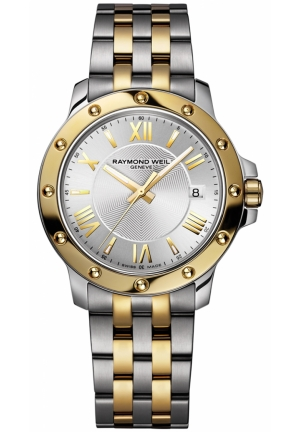 RAYMOND WEIL Tango Two-Tone Stainless Steel Case and Bracelet Watch 39mm