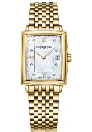 RAYMOND WEIL Women's Tradition Analog Display Swiss Quartz Gold Watch 23mm