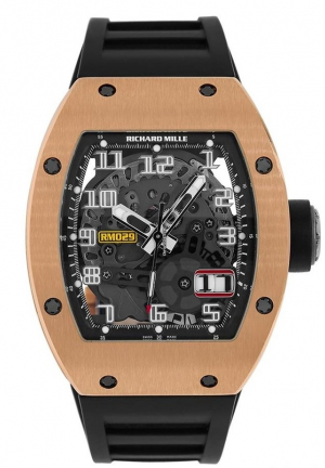 Richard Mille 18k Rose Gold RM 029
