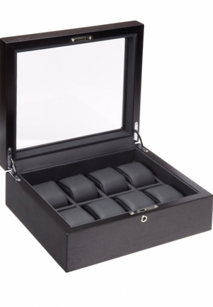 Rustic Brown Finish Watch Case
