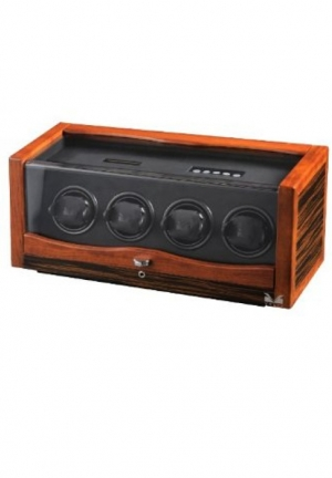Rustic Rosewood and Ebony Wood Watch Winder