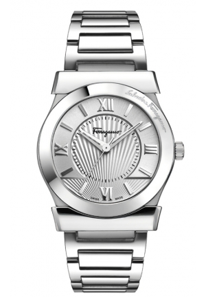 Salvatore Ferragamo quartz silver 32mm