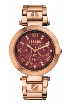 Versus Women's Camden Market Watch Gold Steel White Dial