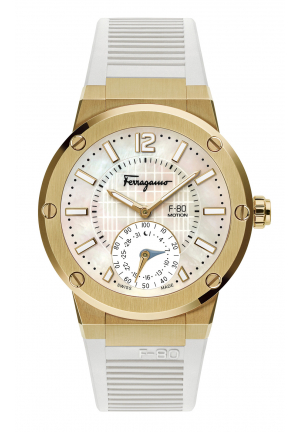 SALVATORE FERRAGAMO F-80 MOTION , 44MM