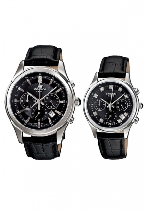 Couple Casio (EFR-517l-1AVDR + SHE-5023L-1A)