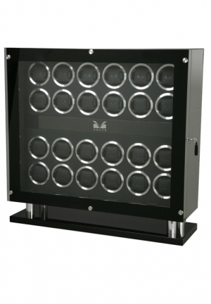 Signature Series Twenty-Four (24) Carbon Fiber Watch Winder