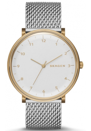 SKAGEN Hald Heavy Gauge Steel Mesh Watch 40mm