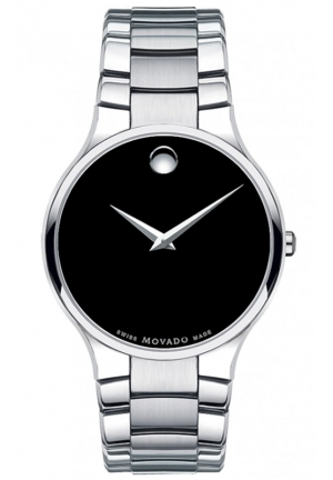 MOVADO Serio Stainless Steel Bracelet Watch 38mm
