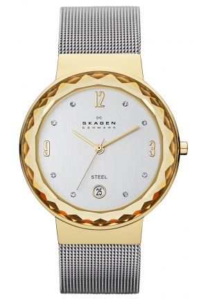 Skagen Women's Leonora Silver Stainless-Steel Quartz Watch