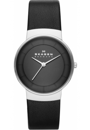 Skagen Women's SKW2059 Nicoline Quartz 3 Hand Stainless Steel Black Watch