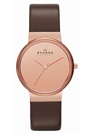 Skagen Analog Brown Dial Women's Watch