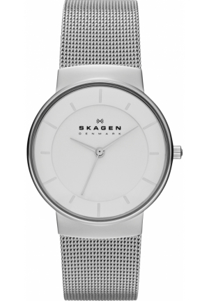 Skagen Women's SKW2072 Stine Quartz 2 Hand Stainless Steel Silver Watch