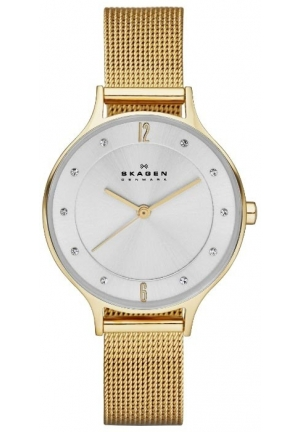 Skagen Women's  Anita Stainless Steel Watch with Mesh Band