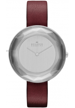 Skagen Women's Gitte Analog Display Analog Quartz Red Watch