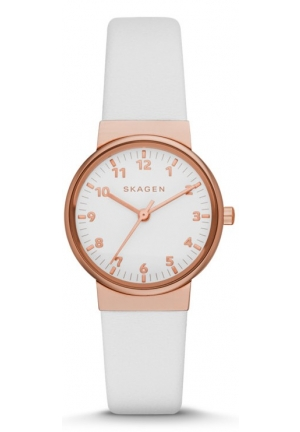 Skagen Ancher Leather Watch