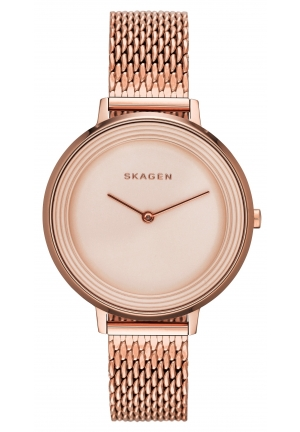 Skagen Women's Analog Quartz Rose Gold Watch