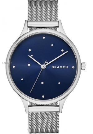 Skagen Women's ANITA Analog Display Analog Quartz Silver Watch