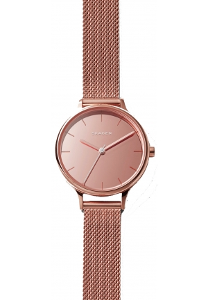 Skagen Anita Mirror Steel Mesh Watch