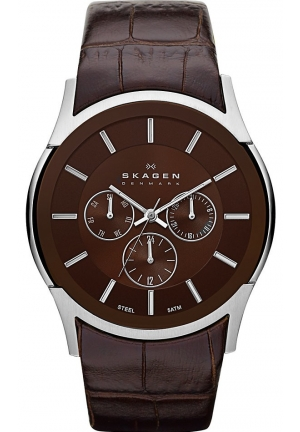 Skagen Analog Brown Dial Men's Watch SKW6001