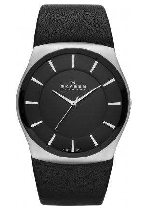 Skagen Men's Havene Quartz 3 Hand Stainless Steel Black Watch