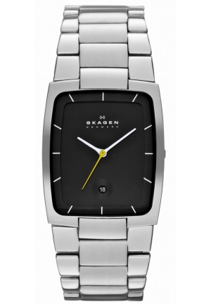 Authentic Skagen Denmark Designer Series Mens Three-Hand Date