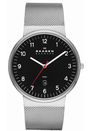 Skagen Watch, Men's Stainless Steel Mesh Bracelet 45mm
