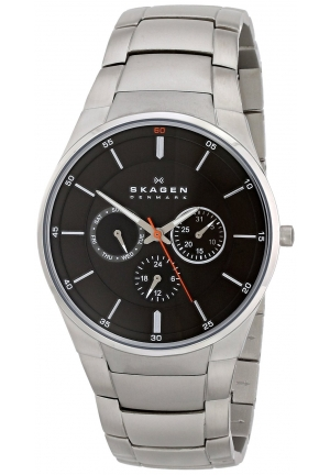 Skagen Watch, Men's Stainless Steel Bracelet 46mm
