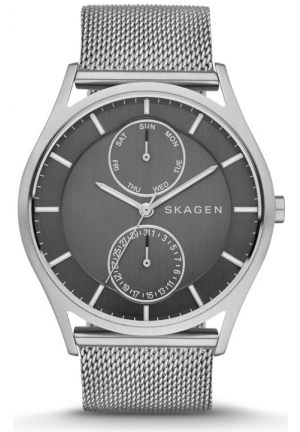 Skagen Holst Steel Mesh Multifunction Watch