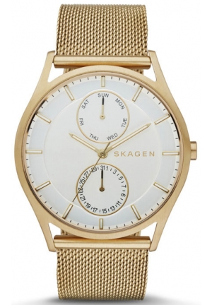 SKAGEN Holst Steel Mesh Multifunction Watch 40mm