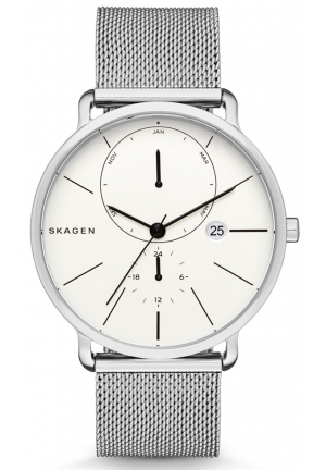 Skagen Hagen White Dial Men's Multifunction Watch SKW6240