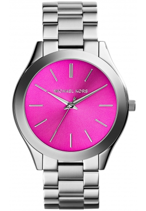 Slim Runway Stainless Steel Bracelet Watch 42mm