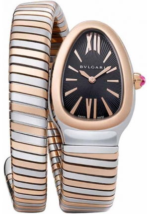 BVLGARI Serpenti Tubogas 102123 SP35BSPG.1T, 35mm