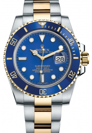 SUBMARINER DATE Oyster steel and yellow gold , 40 mm