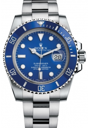 SUBMARINER DATE Oyster white gold , 40 mm