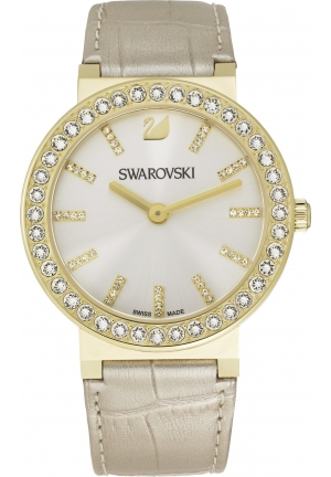 SWAROVSKI Citra Sphere - silver, light gold 38mm