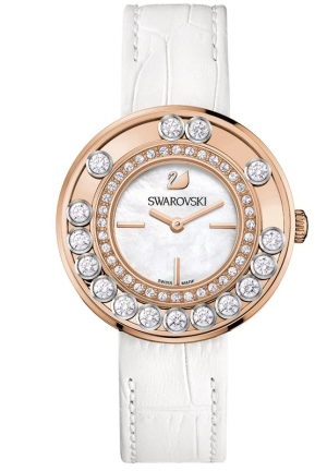 SWAROVSKI Lovely Crystals - white, rose gold 35mm