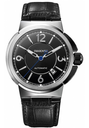 SWAROVSKI Piazza Grande - Automatic, Black 43mm