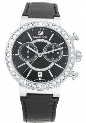 SWAROVSKI SWAROVSKI CITRA SPHERE CHRONO - BLACK 38mm