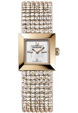 SWAROVSKI Swarovski Elis Mini - Silk DTL, rose gold PVD 23x23mm
