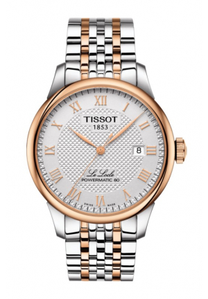 LE LOCLE POWERMATIC 80 ROSE TONE AUTOMATIC WATCH T0064072203300