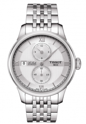 TISSOT LE LOCLE AUTOMATIC REGULATEUR MEN'S WATCH T0064281103802, 39.3MM