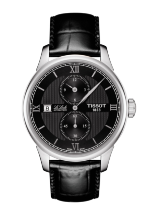 TISSOT LE LOCLE AUTOMATIC REGULATEUR MEN'S WATCH T0064281605802, 39.3MM
