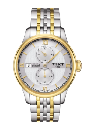 TISSOT LE LOCLE AUTOMATIC REGULATEUR MEN'S WATCH T0064282203802, 39.3MM