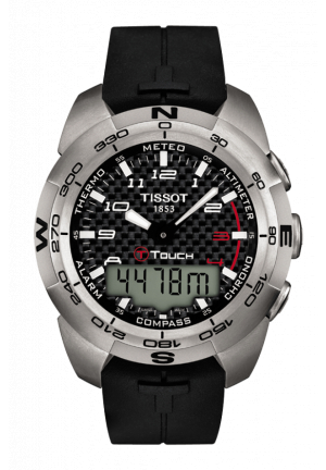 TISSOT T-Touch Expert Titanium Analog/Digital Men's Watch T0134204720200