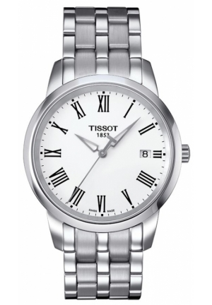 Tissot Watches CLASSIC DREAM WHITE DIAL T0334101101301